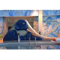 Wholesale Adult Little Tikes Water Slide Theme Blue Fiberglass Park Use from china suppliers