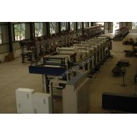 Quality 9 Colors Flexographic Printing Machine , Rotogravure Printer With Ink Tray Trolley for sale