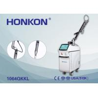 Wholesale Skin Rejuvenation / Pigment Therapy Q Switched Nd YAG Laser 6ns Pulse Width from china suppliers
