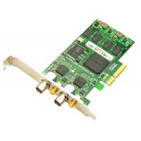 Wholesale 3G/HD/SD SDI Video Capture Card with loop output, 2 ports PCI-Express 1080p/60hz from china suppliers
