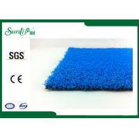 Wholesale 10mm Blue Dtex 4400 Artificial Grass Carpet Indoor Environmental Friendly from china suppliers