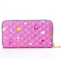 Quality Women's Nylon Clutch Wallet for Ladies Purse Card Holder Zipper Pocket for sale