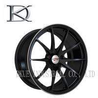 Wholesale Forged Aluminum Black TE37 Replica Wheels 19 Inch Reduce Fuel Consumption from china suppliers