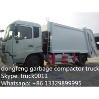 Wholesale Dongfeng 4X2 LHD10tons Compress Garbage truck for sale, hot sale best price dongfeng 210hp/180hp garbage compacted truck from china suppliers