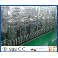 Wholesale Tubular UHT Sterilizing Mango Processing Line With Aseptic Filling Machine from china suppliers