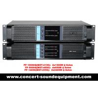 Wholesale Line Array Sound System , FP 10000Q 4 Channel Switch Mode Amplifier 4x1300W from china suppliers