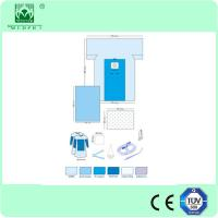 Wholesale disposable sterile surgical c-section drape pack by CE and ISO from china suppliers