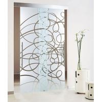 Wholesale Acid Etched Tempered Glass Door Thermal Stability Withstand 250℃ from china suppliers