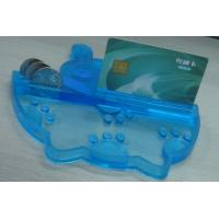 Wholesale Eco friendly PVC Coin Tray Blue Durable Coin Tray , Durable Money Tray from china suppliers