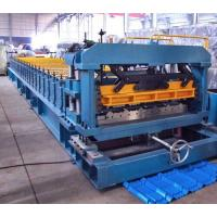 Wholesale 7.5 Kw Gimbal Gearbox Drive Roof Rolling Forming Machine PLC Frequency Control System from china suppliers