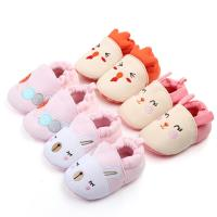 Wholesale New fashion Cotton fabric Cute animal 0-2 years breathable baby cotton shoes from china suppliers