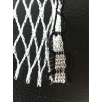 Wholesale Custom White Knitted Knotless Net , Ornament Monofilament Netting from china suppliers