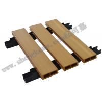 Wholesale 5116 wpc wood ceiling composite decking waterproof fireproof from china suppliers