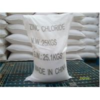Wholesale Zinc Chloride 98% min (ZnCl2) from china suppliers