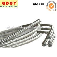 Wholesale PU cover stainless steel braided flexible brake hose line from china suppliers
