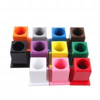 Wholesale montessori materials L050   Set of 11 Colored Pencil Holders from china suppliers