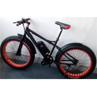 Wholesale Specialized 8 Fun Electric Fat Bike , E Bike Mountain Bike With Fat Tires 40kph 48v 500w from china suppliers