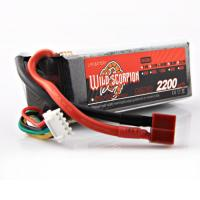 China 14.8V 2200mah 35C RC Lipo Battery With Connector For Car Model on sale