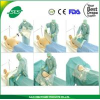 Wholesale AAMI Level 4 S.E.S Product High Quality C-Section Drape from china suppliers