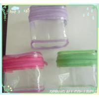 Wholesale mini pvc case with zipper, pvc zipper jewelry case, pvc gift bag from china suppliers