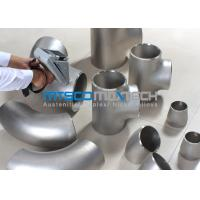 Wholesale UNS S2507 Pipe Fittings , Elbows For Connection Pipes , Duplex Steel Fitting from china suppliers