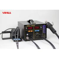 Wholesale BGA Rework Station 4in1 Hot Air Gun With Iron SMD Soldering Welder And Fume Extractor from china suppliers