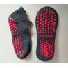 Eco Friendly Non Slip Grip Socks / Dance Non Slip Ankle Socks Customized Color for sale
