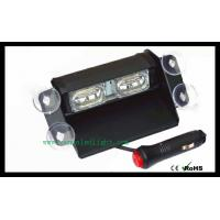 Wholesale White 4 LED Hazard Warning Flashing Strobe Light With Suction Cup Mounts from china suppliers