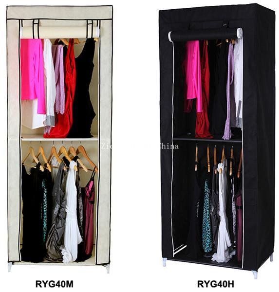 Bedroom Cupboard Portable Folding Wardrobe For Clothes