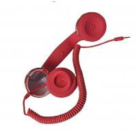 Wholesale Retro Noise Cancelling Anti Radiation Handset, Cell Phone Handsets With Retractable Cable from china suppliers
