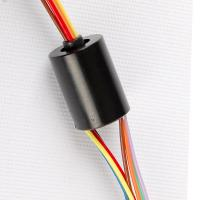 Wholesale 240V Gold To Gold Miniature Slip Ring Low Dynamic Resistance For Pan / Tilt Camera from china suppliers