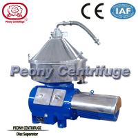 Wholesale Industrial Juice Extractor Disc Stack Centrifuge For Milk Production / Impurities from china suppliers