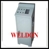 Quality White Instrument enclosure made by CNC Powder Coated Control Console for sale