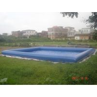 Wholesale Giant Inflatable Water Pool With CE Air Pump For Rental Business from china suppliers