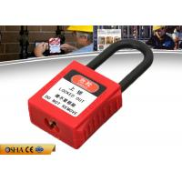 Wholesale 38mm Nylon Shackle Xenoy Safety Lockout Padlocks with Master Key from china suppliers