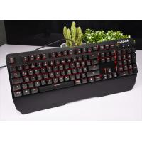 Wholesale RECCAZR Black White RGB Mechanical Keyboard Wired For Windows / Xp KG901 from china suppliers