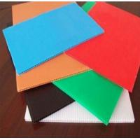 Wholesale Colorful PP Rigid Twin Wall Corrugated Plastic Sheet Correx Floor Protection Sheets from china suppliers