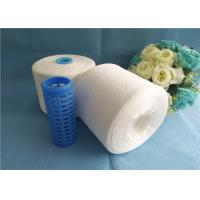 Wholesale Raw White Garment Sewing 100 Spun Polyester Yarn 20s - 80s Dyeable from china suppliers