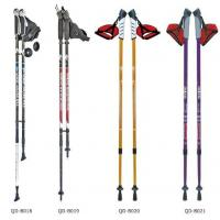Wholesale Outdoor 65-135cm Nordic Walking Stick 7075 Trekking Poles  Telescopic Climbing Equipment Aluminum  Hiking Trekking Poles from china suppliers
