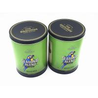 Wholesale Cylinder Round Tin Box Tinplate Round Box Customized Round Tin Containers from china suppliers