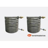 Wholesale Spiral Refrigerant Tube Coil Heat Exchanger Evaporator Wort Chiller Anti Corrosion from china suppliers