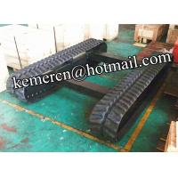 Wholesale factory directly offered 3.5 ton rubber track undercarriage for construction machinery (RT3500) from china suppliers