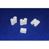 Wholesale High Temp Wear Resistant White Steatite Ceramic Component / Part HRA ≥75 from china suppliers