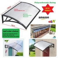 Buy cheap Easy to DIY Polycarbonate PC Awning for door window/Cheap price cover/ house canopy UV pro from wholesalers