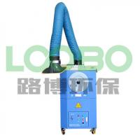 Wholesale Welding fume extraction unit , portable smoke collector with cartridge fitlers and fume collection arms from china suppliers