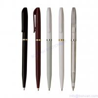 Wholesale simple twist ball pen, low price ball pen for hotel use,hotel promotional pen from china suppliers
