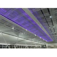 Wholesale Rust Proofing Suspended Commercial Aluminium Baffle Ceiling For Airport  Or Railway Station from china suppliers
