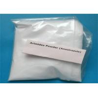Wholesale Anti-Estrogen Steroid Powder Arimidex Anastrozole CAS 120511-73-1 Treat Breast Cancer from china suppliers