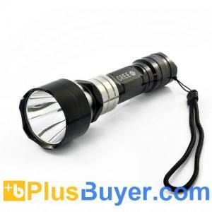 Wholesale CREE XML U2 Waterproof LED Flashlight (White Beam, 10W, 550 Lumens) from china suppliers