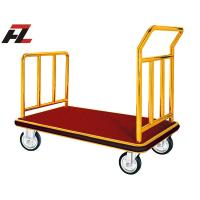 Wholesale Titanium Gold Stainless Steel Luggage Handtruck for Promotion-Handcart from china suppliers
